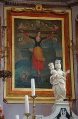 Eglise Sainte-Julie -  Мученичество святой Иулии Корсиканской.