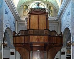 Eglise Sainte-Julie -  Nonza (Corse) - Orgue et tribune d\'orgue de l\'église Santa-Giulia