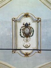Eglise Sainte-Julie -  Nonza (Corsica) - Détail du plafond de la nef de Santa-Giulia