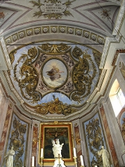 Eglise Sainte-Julie -  Nonza (Corsica) - Voûte du chœur de l\'église Santa-Giulia