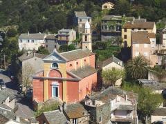 Eglise Sainte-Julie -  Nonza (Corsica) - Église Santa Giulia (14e s. - MH)