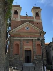 Eglise paroissiale Saint-André -  Église Saint-André d'Oletta (Haute-Corse)