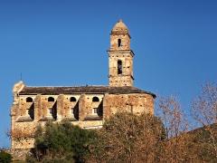 Eglise Saint-Martin -  Patrimonio (Corsica) - Église San Martinu avant restauration