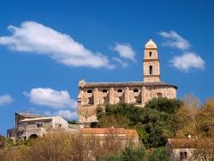 Eglise Saint-Martin -  Patrimonio, Nebbio (Corse) - L'église San Martinu en 2010, après restauration