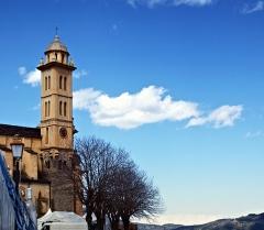 Eglise Saints-Pierre-et-Paul - Français:   Piedicroce, Castagniccia (Corse) - Clocher de l\'église Saint-Pierre Saint-Paul
