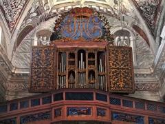 Eglise Saints-Pierre-et-Paul -  Piedicroce, Castagniccia (Corse) - Orgue de tribune de l\'église Saint Pierre et Saint Paul daté de 1617