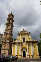 Eglise Saint-Jean-Baptiste -  The Baroque Church of La Porta (Corsica)