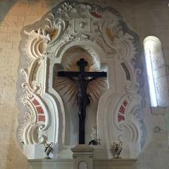 Eglise Sainte-Marie (ancienne cathédrale de Nebbio) -  Christ en croix du 16e siècle Cathédrale de Nebbio à Saint-Florent (Haute-Corse)