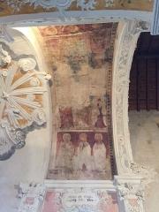 Eglise Sainte-Marie (ancienne cathédrale de Nebbio) -  Peintures murales Cathédrale de Nebbio à Saint-Florent (Haute-Corse)