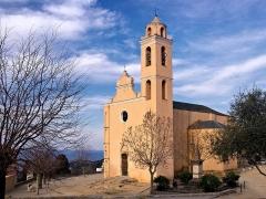 Eglise -  Santa-Reparata-di-Balagna (Corsica) - Église paroissiale Sainte-Réparate
