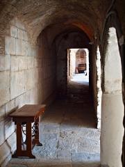 Ancien couvent Saint-Joseph -  Santo-Pietro-di-Tenda (Corsica) - Cloître de l'ancien couvent Saint-Joseph