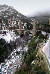 Viaduc sur le Vecchio ou Pont Eiffel (également sur commune de Venaco) -  Venaco (Corsica) - Pont Eiffel sur le Vecchio (2005)
