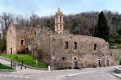 Couvent Saint-Antoine -  Casabianca, Castagniccia (Corse) - Ruines de l'ancien couvent Sant'Antone au col Saint-Antoine