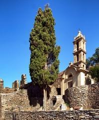 Couvent Saint-Antoine -  Casabianca, Castagniccia (Corse) - Les ruines de l'ancien couvent Saint-Antoine (Sant' Antone) qui, avec son clocher, sont inscrits aux monuments historiques.