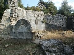 Site archéologique et substructions d'un sanctuaire primitif - Corsu: U battisteru rumànicu di Santa Maria Riscamone, Valle di Rustinu, Corsica 2