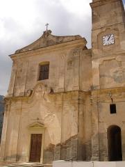 Eglise Saint-Jean et chapelle des Pénitents de la Sainte-Croix - Français:   France, Haute-Corse (2B), Santo-Pietro-di-Tenda, église