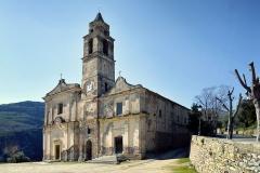 Eglise Saint-Jean et chapelle des Pénitents de la Sainte-Croix -  Santo-Pietro-di-Tenda, Nebbio (Corse) - Église paroissiale San Giovanni Evangelista (Saint-Jean)