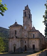 Eglise Saint-Jean et chapelle des Pénitents de la Sainte-Croix -  Santo-Pietro-di-Tenda (Corsica) - Église paroissiale San Giovanni Evangelista