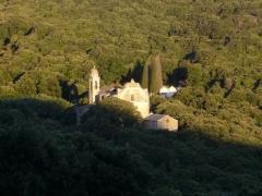 Eglise Saint-André de Granaggiolo et son clocher -  Cap Corse - StAndre church near Granaggiolo--from the D253
