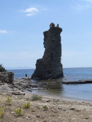 Tour de Santa-Maria-della-Chiappella -  Cap Corse - Tour Santa Maria Ruines