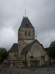 Eglise - Français:   Vue du chevet