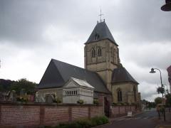 Eglise - Français:   Vue sud-ouest