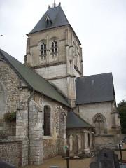 Eglise - Français:   Vue nord-est