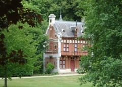 Château d'Amfreville (également sur commune d'Acquigny) - Français:   Dépendance du château d\'Amfreville-sur-Iton dite \
