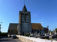 Eglise Saint-Crépin et Saint-Crépinien - English: Barc (Eure, Fr) église Saint-Crépin-Saint-Crépinien