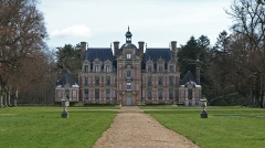 Domaine de Beaumesnil (également sur commune de Gouttières) -  Château de Beaumesnil