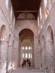 Ancienne abbaye Notre-Dame - English: Nave of the Notre-Dame abbey in Bernay (Eure)