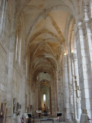 Ancienne abbaye Notre-Dame - English: Abbey of Notre-Dame in Bernay (Eure): the northern collateral