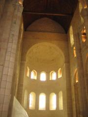 Ancienne abbaye Notre-Dame - Deutsch: Apsis der Abteikirche von Bernay, Normandie, Frankreich