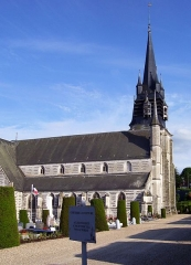 Eglise Notre-Dame-de-la-Couture - English: The church Notre-Dame de la Couture in Bernay (Eure, France).