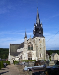 Eglise Notre-Dame-de-la-Couture - English: The basilica Notre-Dame de la Couture in Bernay (Eure, France).