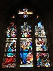 Eglise Sainte-Croix - Bernay Sainte-Croix vitrail de Broglie