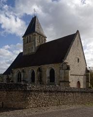 Eglise - Français:   Église Saint-Ouen de Berthenonville, dans l\'Eure, région Normandie.
