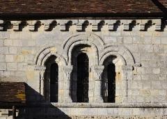Eglise - English: In the church Saint-Aubin de Boisney (Eure, France).