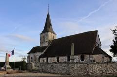 Eglise - English: The church Saint-Aubin de Boisney in Eure, Haute-Normandie, France.