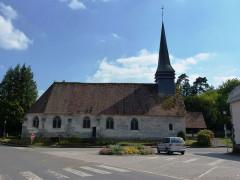 Eglise - English: Drucourt (Eure, Fr) église Notre-Dame