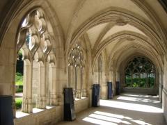 Cathédrale Notre-Dame -  Cathédrale d'Evreux, Eure, Normandie: cloître