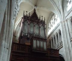 Ancienne abbaye Saint-Taurin - Orgue de l'église Saint-Taurin - Evreux 27 - France