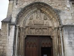 Ancienne abbaye Saint-Taurin -  Portail sud de l'Église Saint Taurin d'Évreux