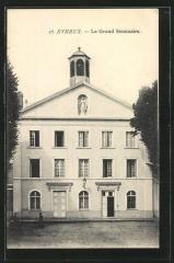 Ancienne abbaye Saint-Taurin - Grand séminaire d'Évreux, avant 1944 (remanié par la suite).