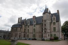 Evêché et ses dépendances -  Vue du musée d'Évreux // Evreux - Eure - France