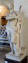 Evêché et ses dépendances - Sculpture en marbre d'Honoré Icard.