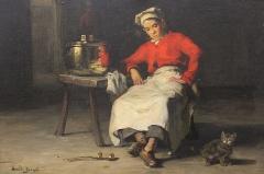Evêché et ses dépendances - Joseph Bail (1862-1921)- Le petit mitron (#100WikiCommonsDays day 42)