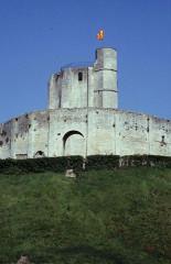 Restes du château -  Eure Gisors Chateau Donjon