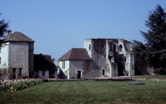 Restes du château -  Eure Gisors Chateau Entree