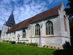 Eglise - English: Goupillières (Eure, Fr) église Notre-Dame